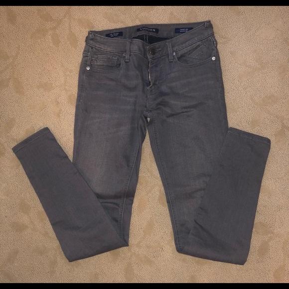 Vigoss Mid-Rise Gray Jeans